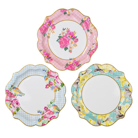 Truly Scrumptious Pretty Medium Plates -  Party Supplies - Talking Tables - Putti Fine Furnishings Toronto Canada - 1