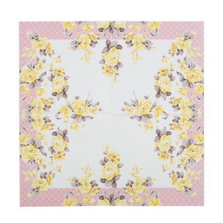 Truly Scrumptious Floral Luncheon Napkins -  Party Supplies - Talking Tables - Putti Fine Furnishings Toronto Canada - 4