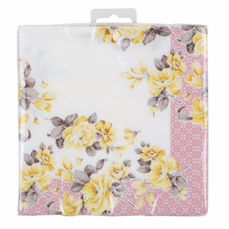 Truly Scrumptious Floral Luncheon Napkins -  Party Supplies - Talking Tables - Putti Fine Furnishings Toronto Canada - 2