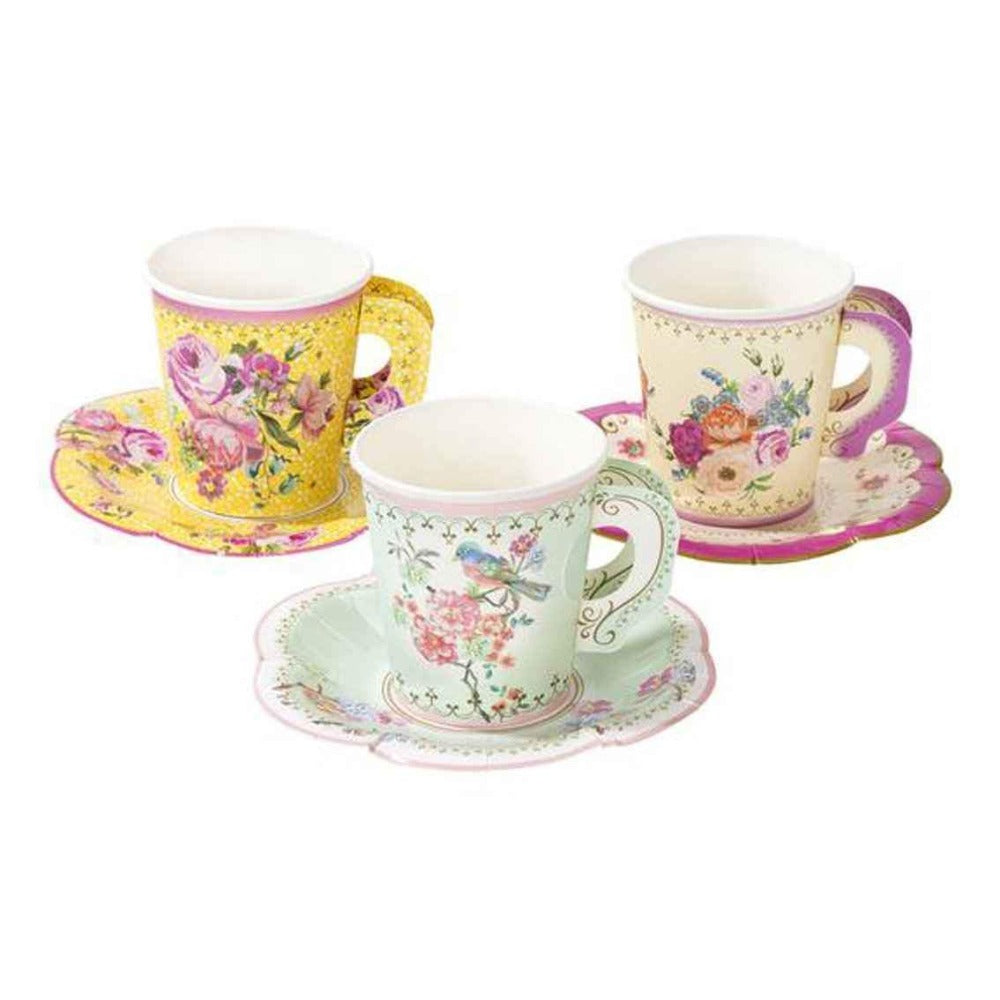 Truly Scrumptious Floral Teacup & Saucer Set