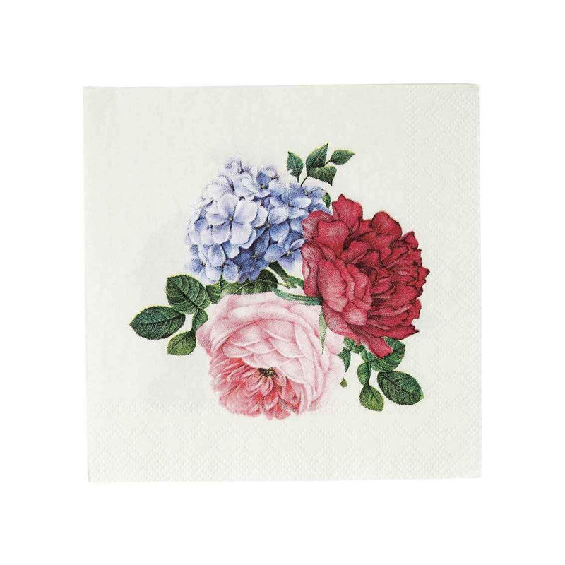 Truly Scrumptious Floral Cocktail Napkin