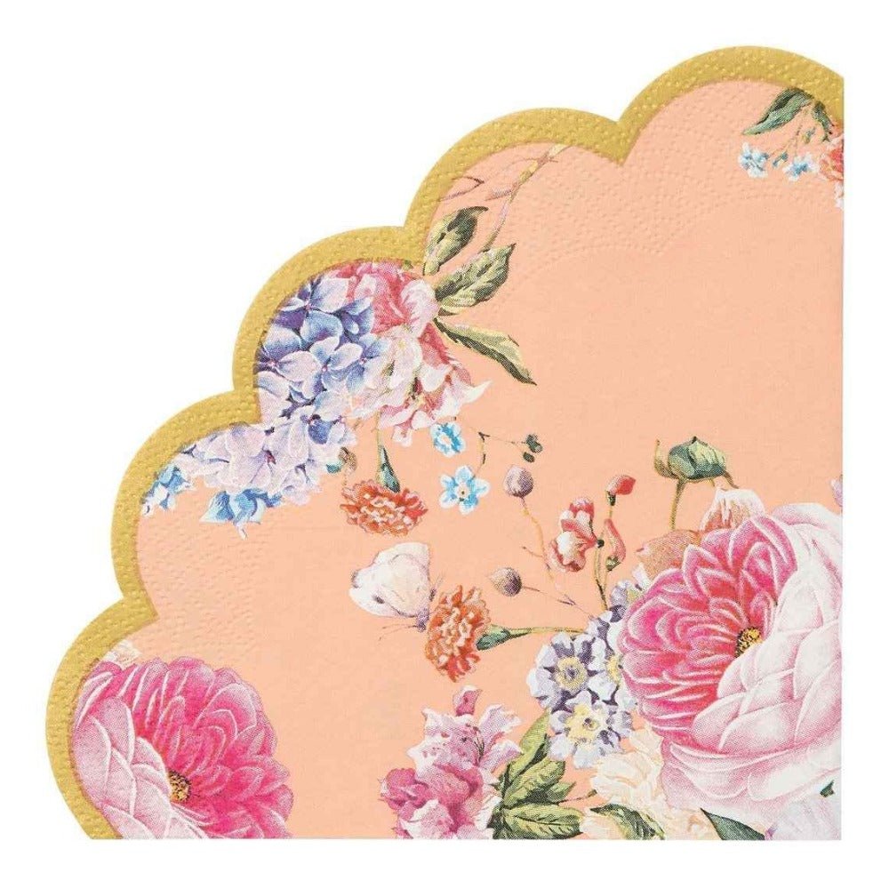 Truly Scrumptious Floral Scalloped Napkin