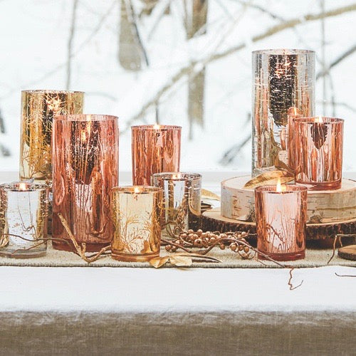 Thymes Maple Luminary Candle - Small | Putti Fine Furnishings Canada