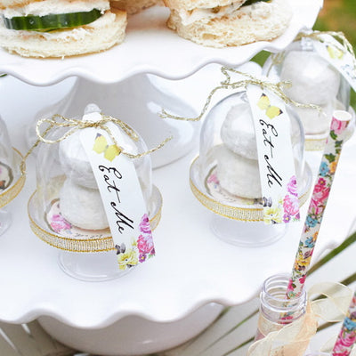 Truly Alice Curious Cake Domes -  Party Supplies - Talking Tables - Putti Fine Furnishings Toronto Canada - 4