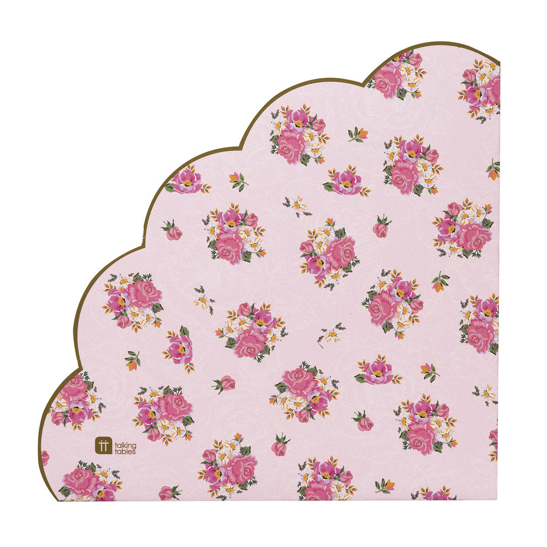 Talking Tables Truly Scrumptious Scalloped Paper Napkin Le