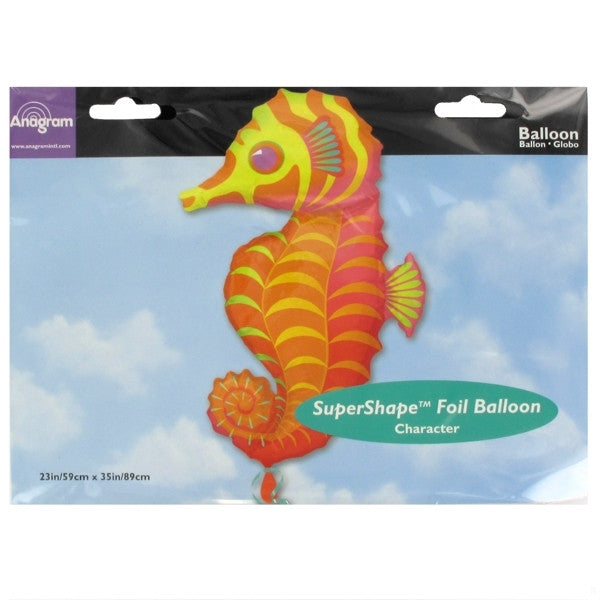 Seahorse Mylar Balloon, SE-Surprize Enterprize, Putti Fine Furnishings