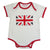 Union Jack Baby Grow, PC-Powell Craft Uk, Putti Fine Furnishings
