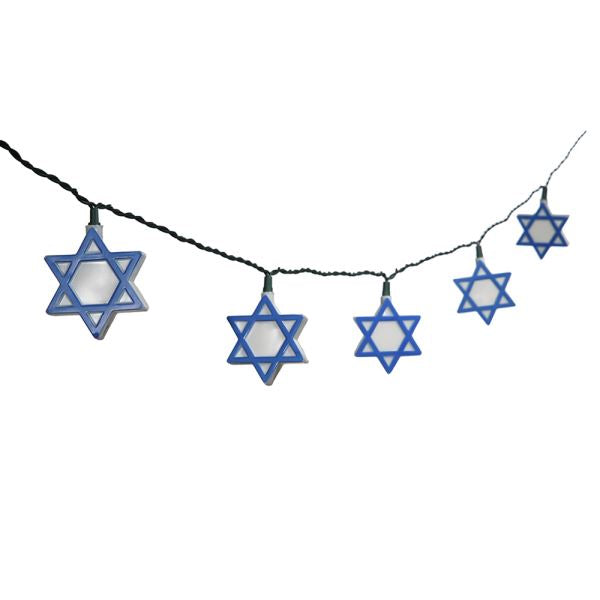 Hanukkah Star of David 10 Light Set