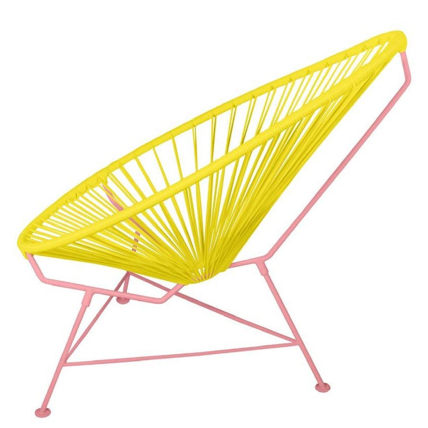 Acapulco Chair - Custom Color on Coral Pink Frame