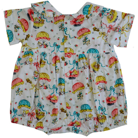"""Vintage Baby"" Romper-Children's Clothing-Powel Craft UK-Age 0-6 Months-Putti Fine Furnishings"