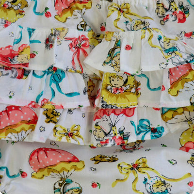 """Vintage Baby"" Print Frilly Nickers, PC-Powell Craft Uk, Putti Fine Furnishings"