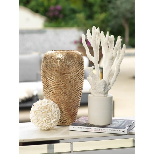 Zodax Seychelles Capiz Covered Vase | Putti Fine Furnishings
