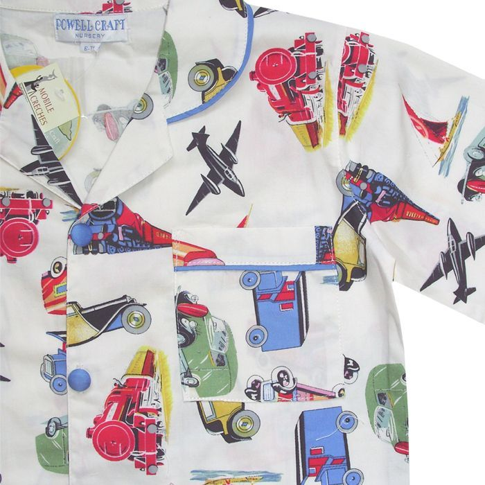Daniel Vintage Transport Pyjamas, PC-Powell Craft Uk, Putti Fine Furnishings