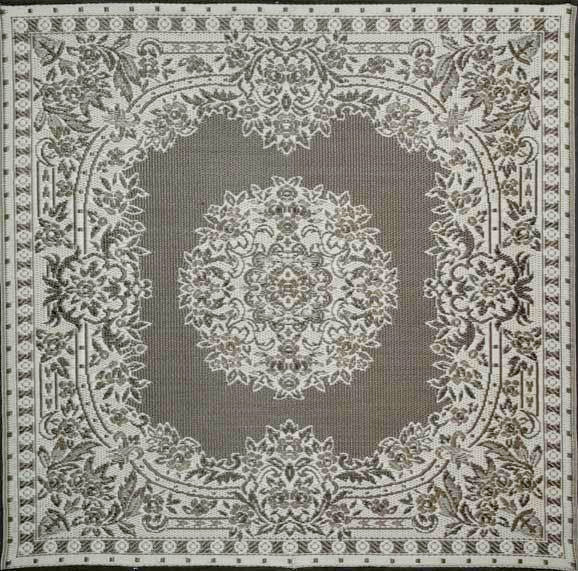 Mad Mats Outdoor Carpet Versailles-Outdoor Carpets-MMAT-Mad Mats-Silver-Putti Fine Furnishings