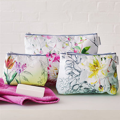 Designers Guild Sibylla Lime Toiletry Bag - Small