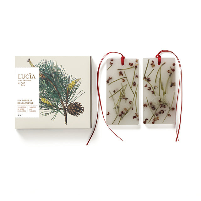 "Lucia ""Les Saisons"" Pine Scented Wax Tablets 