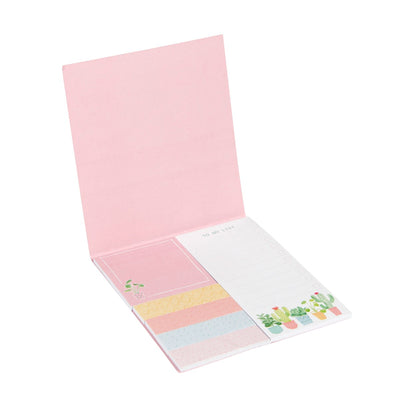 Pastel Cactus Sticky Note Set, RJBS-RJB Stone, Putti Fine Furnishings