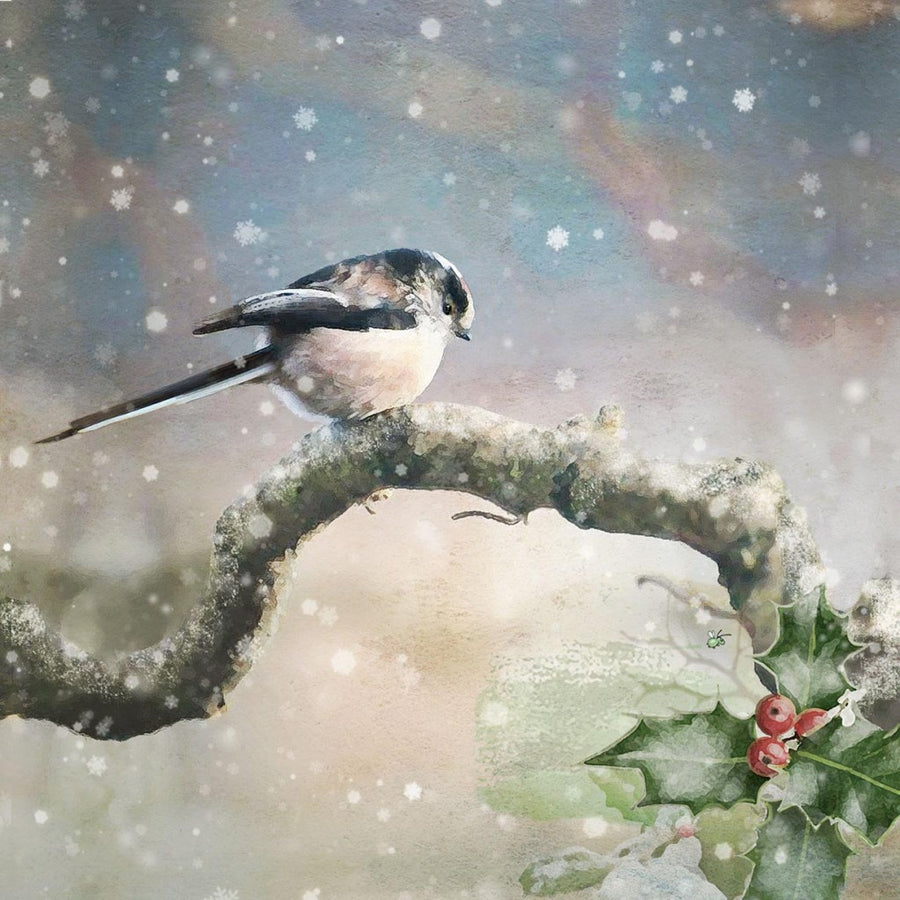 """Long Tailed Tit"" Christmas Card, ID-Incognito Distribution, Putti Fine Furnishings"