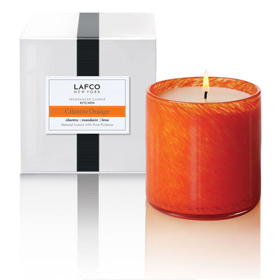 Lafco NY Cilantro Orange Candle - Kitchen
