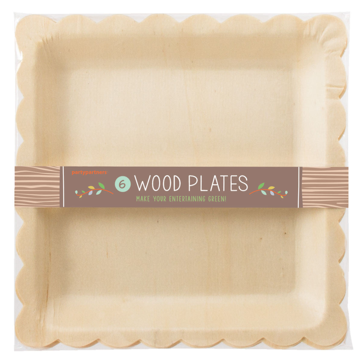 Birchwood Scallop Plates, PP-Party Partners - Estelle Gifts, Putti Fine Furnishings