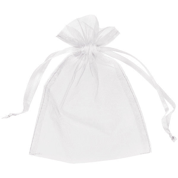White Organza Sachet Bag, HDF-Holland Dried Flowers, Putti Fine Furnishings