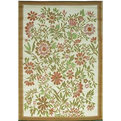 Mads Mats Outdoor Carpet Wildflowers - Putti Fine Furnishings Canada