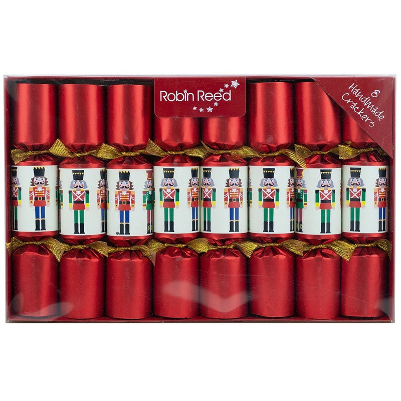Robin Reed Red Nutcracker Christmas Crackers