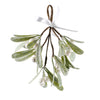 Hanging Mistletoe with Glitter | Putti Christmas Decorations