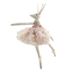 Fabric Ballerina Reindeer Ornament | Putti Christmas Canada