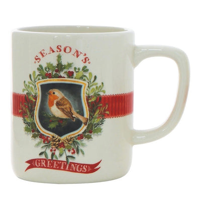 Holiday Birds Christmas Mugs