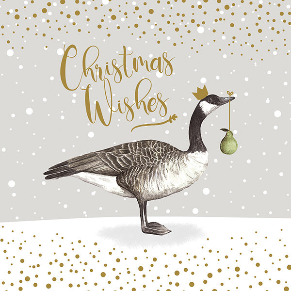 """Christmas Wishes"" Canada Goose Greeting Card Pack"