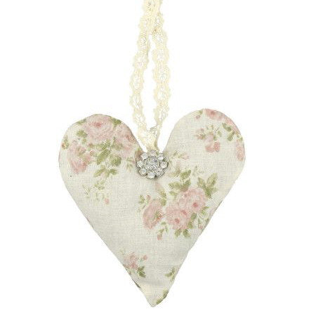 Miss Rose Sister Violet Lavender Heart Sachet - Large Heart Sachet Sachet - Miss Rose Sister Violet - Putti Fine Furnishings Toronto Canada - 1
