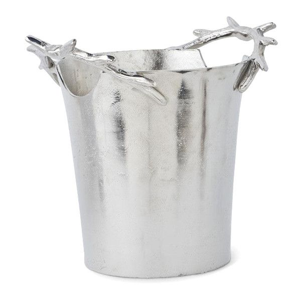 Silver Antler Wine Cooler - Putti Fine Furnishings