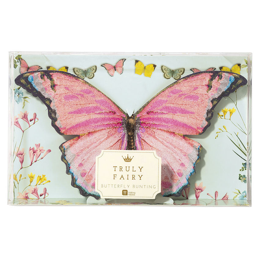 """Truly Fairy"" Butterfly Garland"