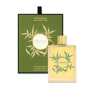 Abahna White Grapefruit & May Chang Bath Oil 100ml, Abahna, Putti Fine Furnishings