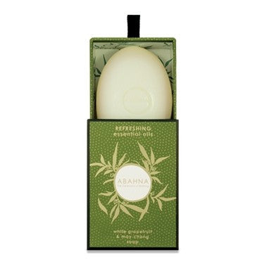Abahna White Grapefruit & May Chang Soap 170g-Bath Products-Abahna-Putti Fine Furnishings