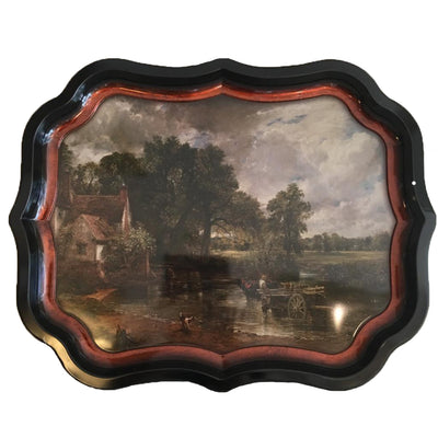 "National Gallery Tin Tray - Constable ""The Hay Wain"" 