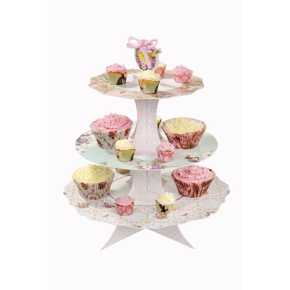 Frills and Frosting Three Tier Cake Stand