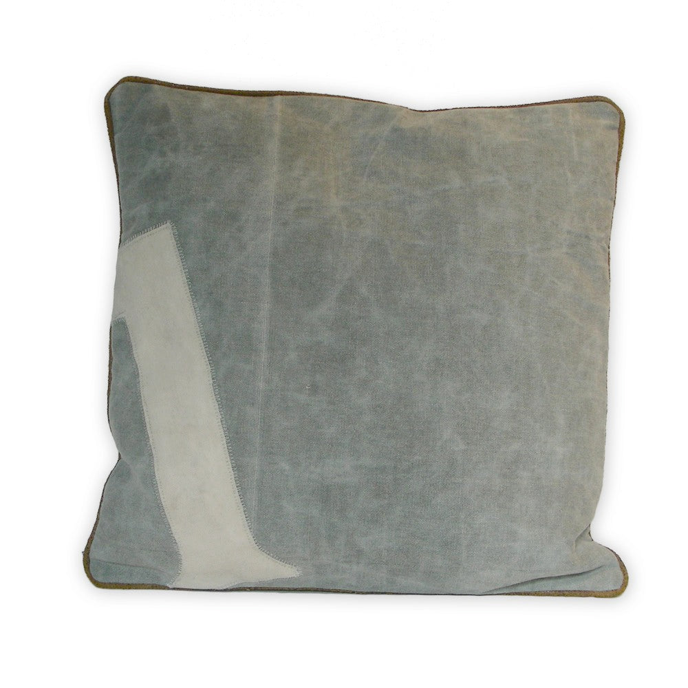 Canvas Polo Number Cushions -  Soft Furnishings - Culinary Concepts London - Putti Fine Furnishings Toronto Canada - 1
