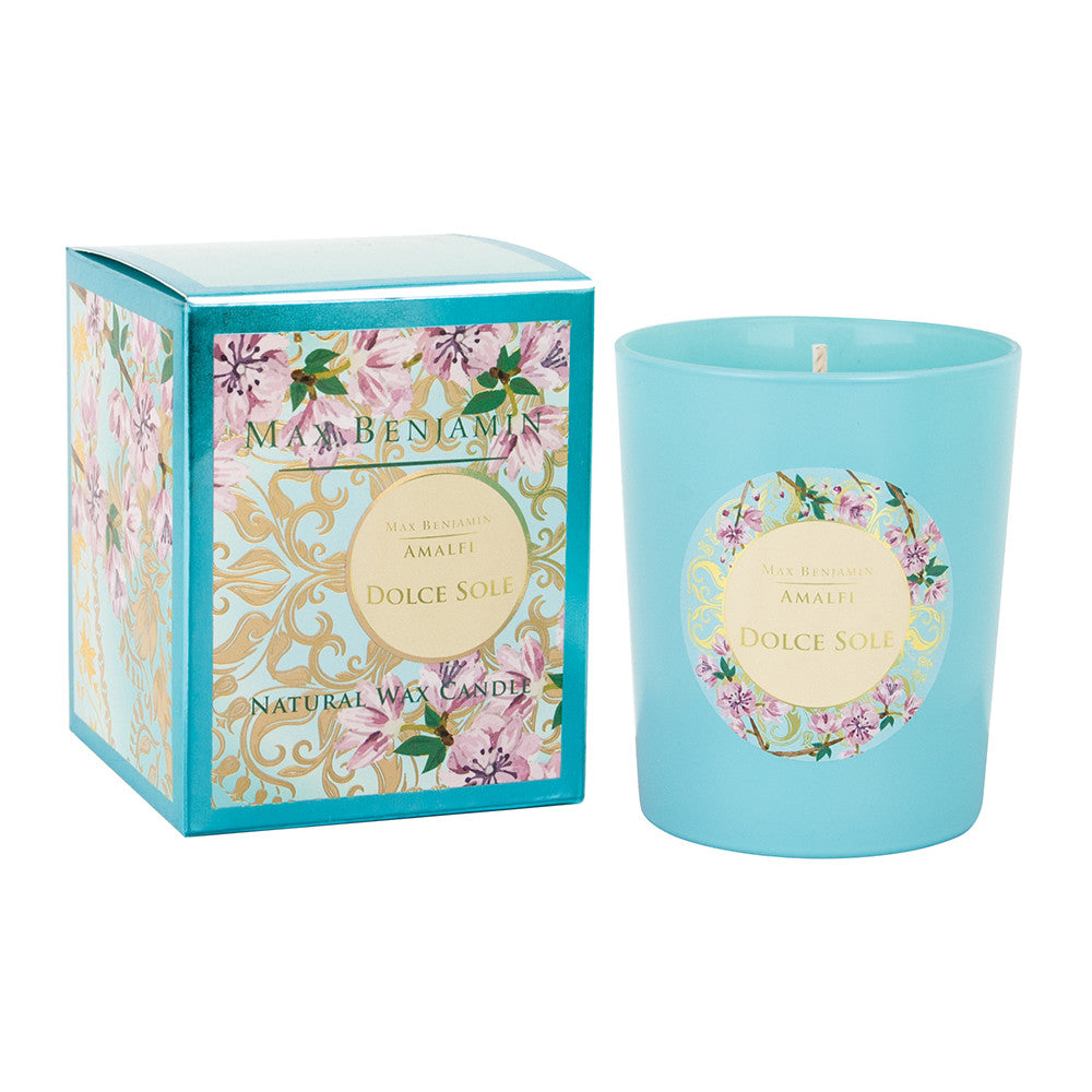 Max Benjamin Amalfi Scented Candle - Dolce Sole - 190g, MB-Max Benjamin, Putti Fine Furnishings