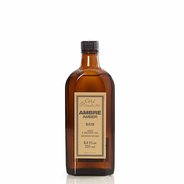 Cote Bastide Shower Gel 250ml - Amber-Personal Fragrance-Cote Bastide-Putti Fine Furnishings