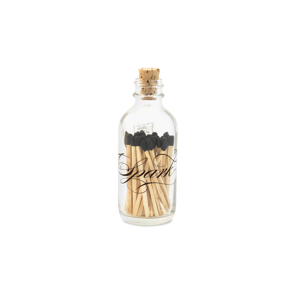 Skeem Design - Apothecary Calligraphy Matches Mini-Candle Accessories-SD-Skeem Design - The Tate Group-Putti Fine Furnishings