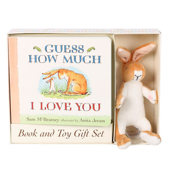 """Guess How Much I Love You"" Deluxe Book and Toy Gift Set"
