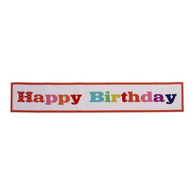 "Birthday Bash ""Happy Birthday"" Giant Room Banner, TT-Talking Tables, Putti Fine Furnishings"