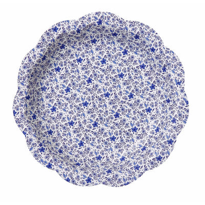 Party Porcelain Blue Small Paper Plate -  Party Supplies - Talking Tables - Putti Fine Furnishings Toronto Canada - 3