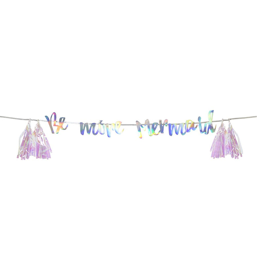 """Be More Mermaid"" Hanging Garland"