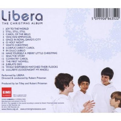 Libera CD - The Christmas Album