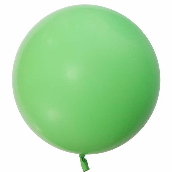 "Giant Round Balloon 36""- Lime Green, SE-Surprize Enterprize, Putti Fine Furnishings"