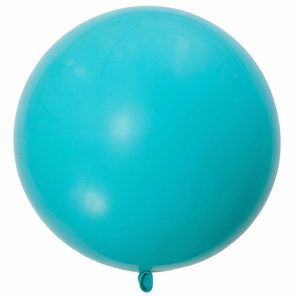 "Giant Round Balloon 36""- Carribbean Blue"