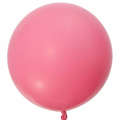 "Giant Round Balloon 36""- Rose Pink, SE-Surprize Enterprize, Putti Fine Furnishings"
